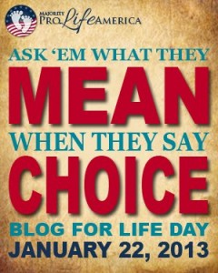ask them what they mean by choice day
