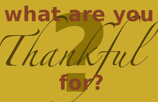 November Thankful Challenge Day 30