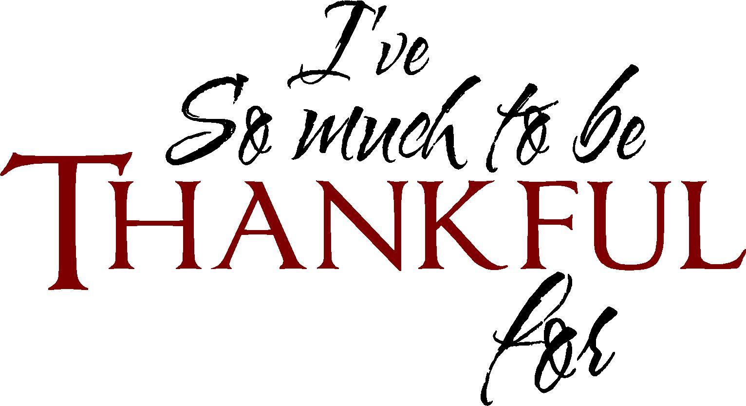 November Thankful Challenge Day 20