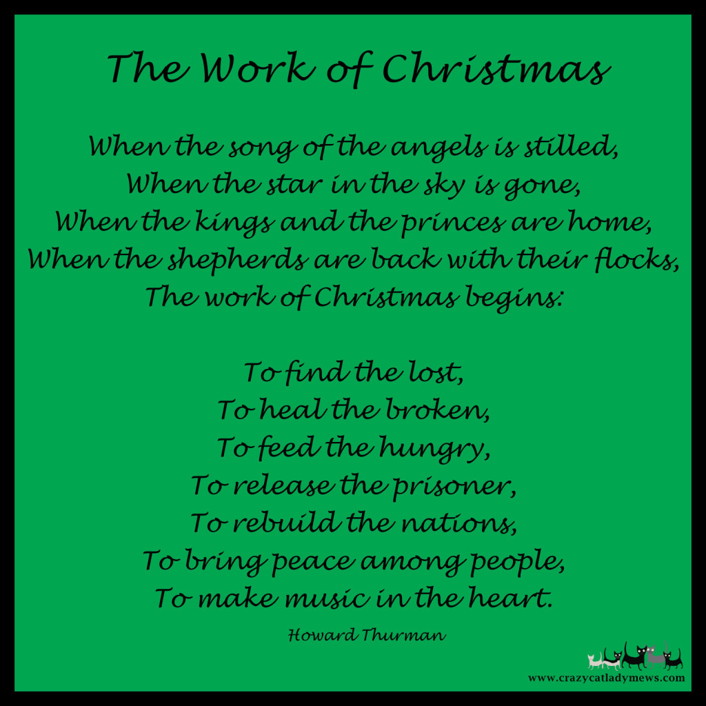 The Work of Christmas