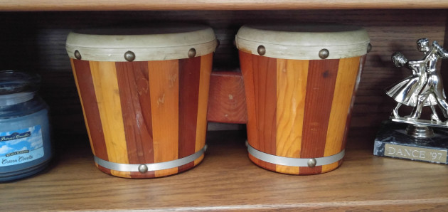 Babies, Bongos and Remembering Dad